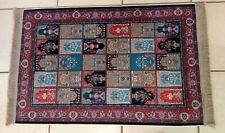 Silky Turkish Rug - Beautiful Design - High Quality - 47 inches x 27.5 inches