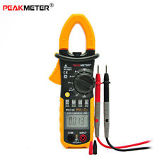 PEAKMETER MS2108 Digital AC DC Clamp Meter Current Volt Tester Multimeter T-RMS
