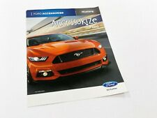 2017 Ford Mustang Accessories Brochure