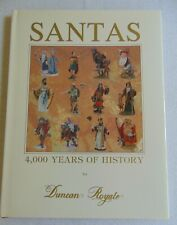 Duncan Royale Book, Santas,4,000 Years Of History, 1991, New