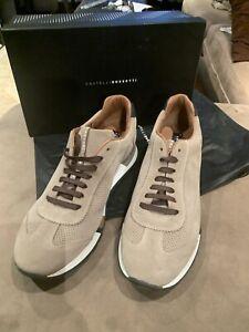 Fratelli Rossetti Man Sneaker Suede Beige Size44 Is 11 New In Box