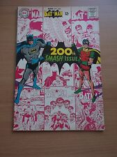 DC: BATMAN # 200 SMASH ISSUE, AWESOME NEAL ADAMS COVER, 1968, FN+ (6.5)!!!