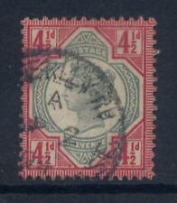 Go QV 1887 Jubilé 4 1 / 2d fu daté CD sg206 CV 40 £
