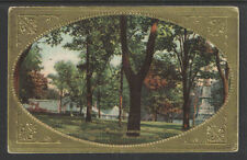 1910 VIEW IN CAPITAL PARK SHOWING GREEN HOUSES HARRISBURG PA POSTCARD