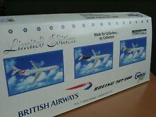 Gemini B727-200 BRITISH Airways 3er Set 355 7479 - 1:400