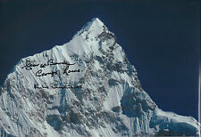 More details for george band lowe mike westmacott everest signed photo aftal coa autograph rare