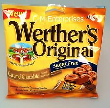 Storck Werther's Original Sugar Free Caramel Chocolate Candy 2.35 oz Werthers