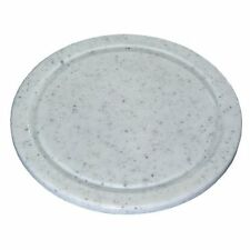 Schneidebrett, Fleischteller, rund 24cm, Kunststoff grau, Kesper Frühstücksbrett