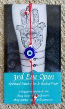 Original Evil Eye Bracelet Spiritually Blessed Protection Luck Mal de Ojo Hamsa