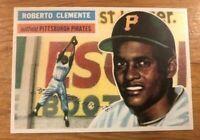 1956 Topps Reprint #33 Roberto Bob Clemente Pittsburgh Pirates Card MINT RP