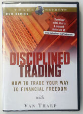 DISCIPLINED TRADING trade financial freedom by Van Tharp * Stock Trading DVD *