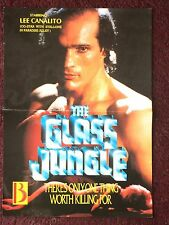 The Glass Jungle - 1988 movie poster
