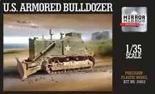 MIRROR MODELS 35852 US Cat D7 Armored Bulldozer in 1:35
