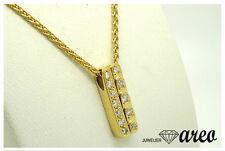 Gebraucht: Collier 750 / 18 K Gelbgold ca. 0,15 ct.  W / SI  Diamantbesatz