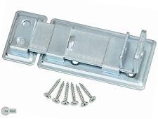 Türschloßriegel Türriegel Schubriegel 130 /51 Sicherheits-Schlossriegel Silber