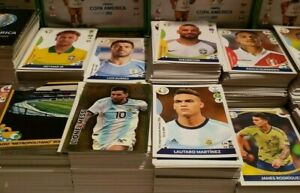 PANINI COPA AMERICA 2021 PREVIEW - STICKERS #1 - #198 - PLAYERS AND HALO-FOILS