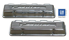 Cadillac Caddy  POLISHED aluminum valve covers, 331-365-390-429 1949-1967