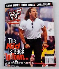 Shawn Michaels WWF Wrestling Magazine October 1998 Wrestler Dlo Brown Poster