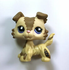 Cute Littles Pet Shop LPS Dog Collie Child Girl Loose Auction Figure
