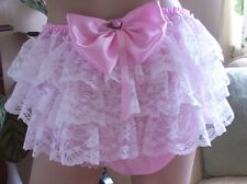 CD ADULT BABY SISSY FRILLY BUM KNICKERS