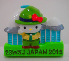 2015 World Scout Jamboree HELLO KITTY SCOUTS OFFICIAL SOUVENIR MAGNET ~ MINT