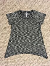 Girls Kids 90 Degrees By Reflex T-Shirt 10% Spandex Medium 10