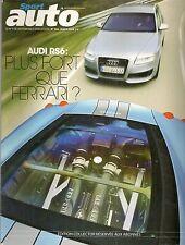 SPORT AUTO 554 AUDI RS6 FERRARI 430 SCUDERIA JAGUAR XF V8 BMW Z4M FORD SHELBY GT