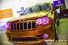 ORACLE for Jeep SRT8 08-10 PURPLE LED TRIPLE Head/Foglight Halo Angel Eyes Kit