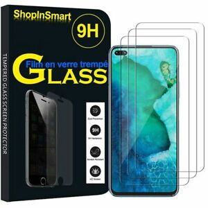 3X Verre de Protection Pour Huawei Honor V30/ Honneur View30 Affichage Film