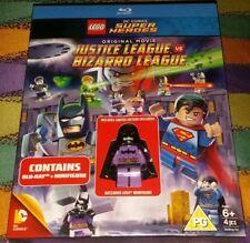 NUOVO Blu-Ray esclusiva LEGO BATMAN bizzarro minifigura & JUSTICE LEAGUE Vs Bizzarro