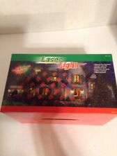 Santa Laser Light Red & Green Laser Auto On/Off Water Resistant