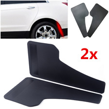1 Pair Carbon Fiber Look Car SUV Mudflaps Wheel Moulding Fender Mudguard Plastic