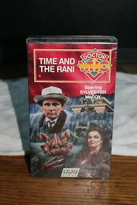 Doctor Who - Time And The Rani [VHS] Sylvester McCoy Brand New Unopened 1987
