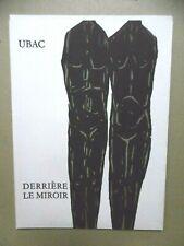 UBAC Derrière le Miroir n° 161 DLM 8 Lithographies Tirage original 1966 lithos