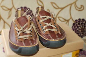 Timberland Hommes Leather Shoes Brown Lace Up