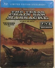 The Texas Chainsaw Massacre 40th Anniversary FYE Exclusive Blu-ray Steelbook NEW