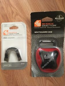 mouth guard set/ case & mouthguard piece/ NEW/ adult 11+