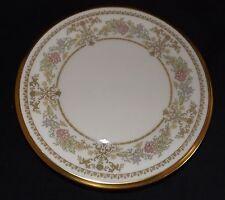 "Lenox USA Castle Garden Bread Plate 6 5/8"" Gold Trim"