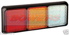 LED Autolamps 80brawme 12V / 24V POSTERIORE combinazione Stop / Tail / Ind / REVERSE Lampada Luce