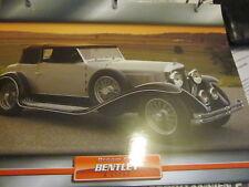 Dream Cars N England 1 Bentley 8 Litre 1931