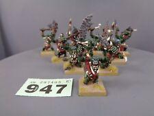 Warhammer edad de Sigmar orruks orcos goblins bonesplitterz salvaje morboys 947