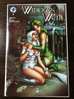 Widow's Web #2 BLUEWATER EXCLUSIVE Signed By Raven Gregory LTD 250 NM+
