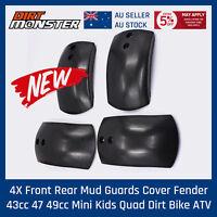 Front Rear Wheel Tire Mud Guard Parts For Mini Pocket Atv Quad Bike 47cc 49cc