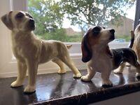 4x Superb Coopercraft Dogs