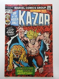 Astonishing Tales #16 Awesome Ka-zar Cover!!  Beautiful VF+ Condition!!