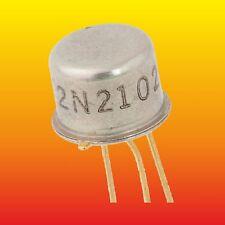 2N2102 LOT OF 2 MBR SILICON AU NPN TRANSISTOR 0.3 W 0.2 A ~ 2N2102A, BLX10