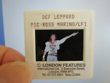 More details for original press photo slide negative - def leppard - joe elliott - 1990's - g