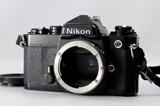 [EXC+++++] Nikon FE 35mm SLR Film Camera Black Body Only from JAPAN #136