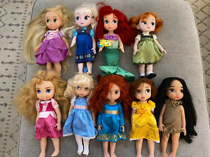 Disney Animator Doll Lot of 9