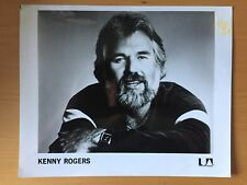 Rare American Song Writer Actor: Kenny Rogers United Artists Publicity Photo